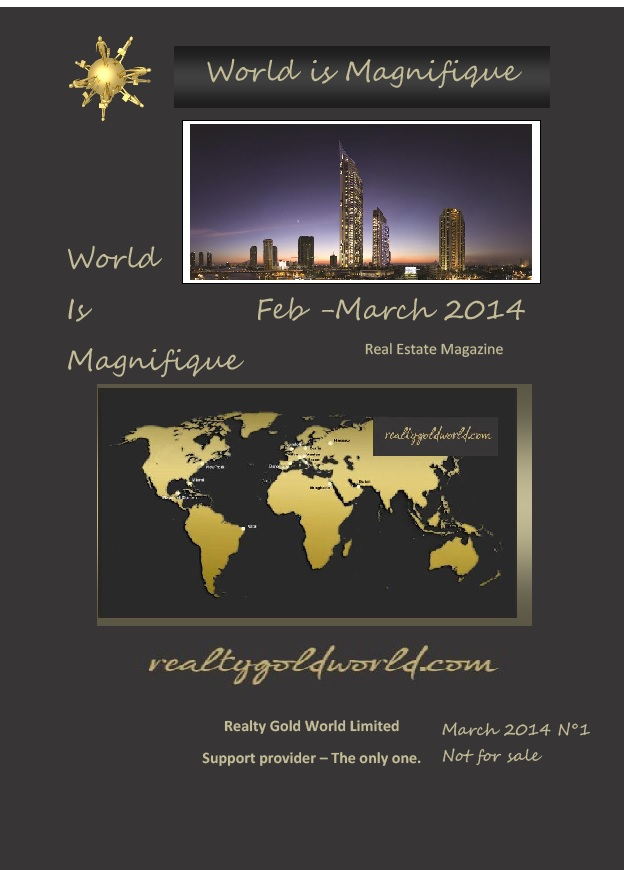 World is Magnifique Feb March 2014